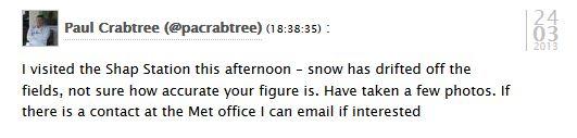 Met Office comment
